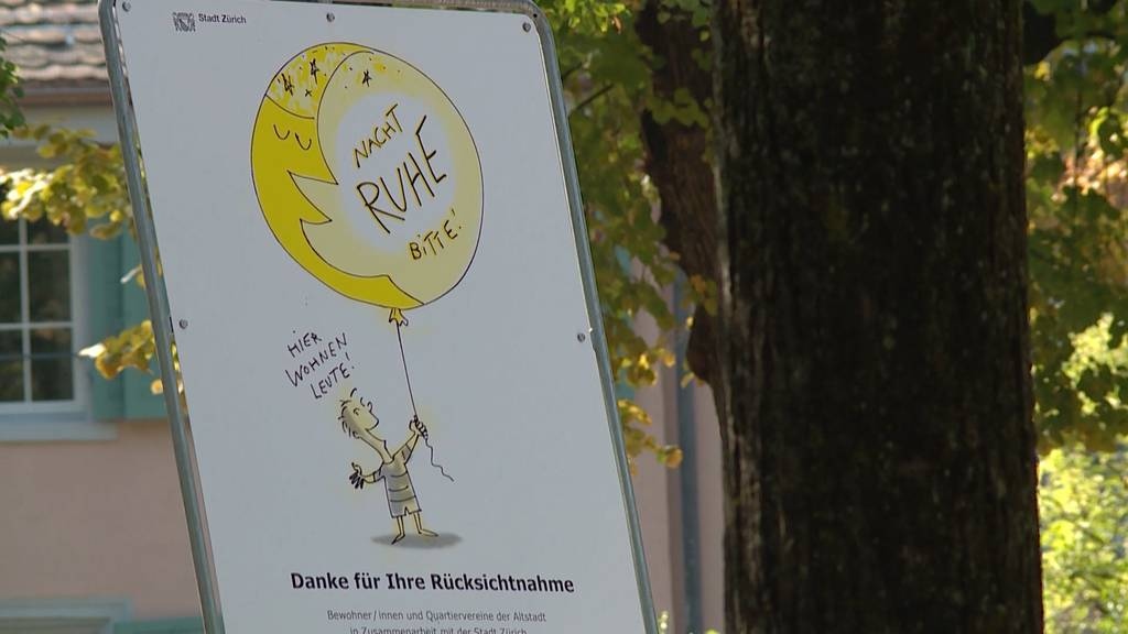 Viel mehr Lärmklagen: Stadt kämpft mit Plakaten für Ruhe