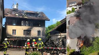 Brand in Boniswil.