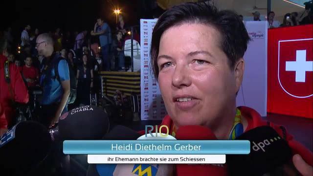 Gold für die Schweiz & Vom Sponsoren-Schiessen zur Bronze-Medaille