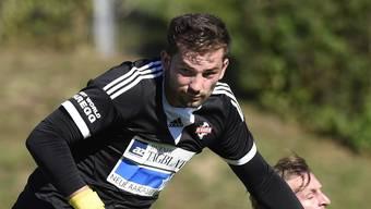 FC Baden Goalie Dedaj Vilson ist seit fünf Spielen unbezwungen.