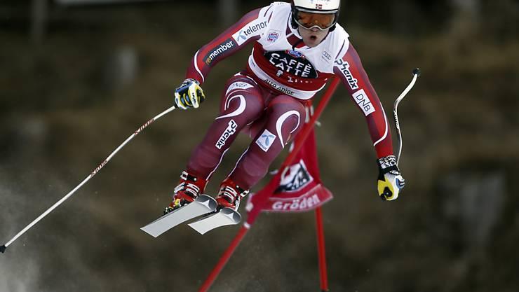 Aleksander Kilde war im einzigen Training in Garmisch deutlich der Schnellste