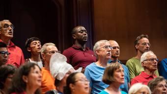 Gemeinschaftskonzert Chor der Nationen Solothurn und Weltchor Baden