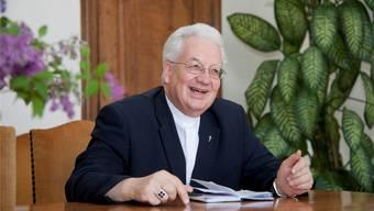 Weihbischof Martin Gächter kann auf 25 Jahre Arbeit als Weihbischof zurückblicken.