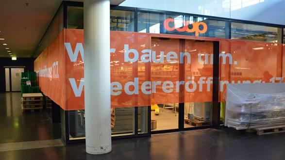 Ab Donnerstag soll das Einkaufen im Coop im Bahnhof Aarau stressfreier sein.