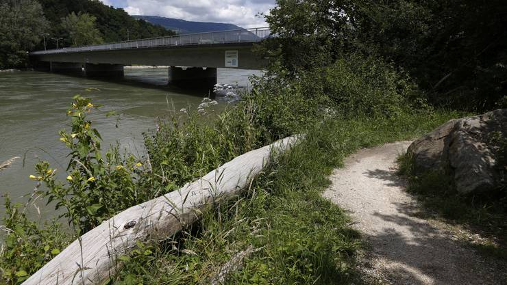 Später sollen die nationalen Velorouten fünf und acht an den Aareuferweg bei der Wilihofbrücke verlegt werden.