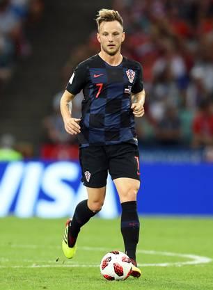 Am Sonntag kann Ivan Rakitic mit Kroatien Fussball-Weltmeister werden.