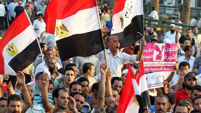 Kundgebung auf dem Tahrir-Platz in Kairo