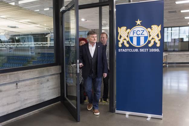 Canepa musste vor kurzem Trainer Ludovic Magnin entlassen.