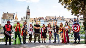 Die Superhelden kommen nach Bremgarten – am 5./6. September sollen es am ersten Fantasy-Festival Excelsior Argovia Dutzende oder gar Hunderte sein.