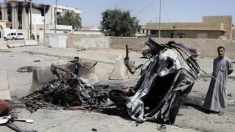 Erneut Anschläge in Tikrit (Archivbild vom März)