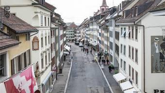 Die Rathausstrasse ist Liestals kleingewerbliche Schlagader. Wüest & Partner schlagen eine Blutauffrischung vor.