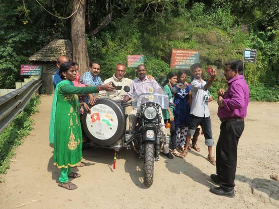 Von Valparai nach Chalakudy (Indien)