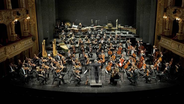 Auch sie müssen sich dem täglichen Perfektionsdruck stellen: Musiker der Philharmonia Zürich mit Fabio Luisi