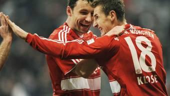Mark van Bommel und Miroslav Klose mit Verletzungspech