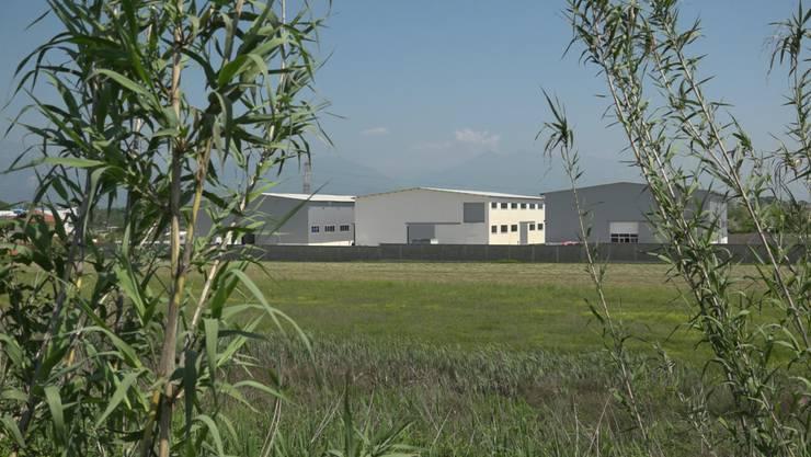 Das Gebäude der Künzli-Fabrik in Albanien.
