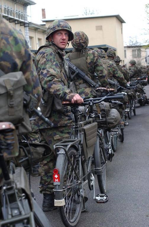Abgefahren: Das Militärvelo