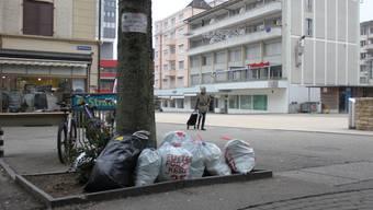 Übers Wochenende soll im Stadtzentrum kein Kehricht mehr herumstehen