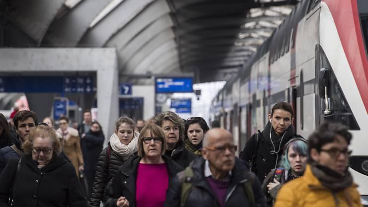 Erneuter Bahn-Ausfall zwischen Zürich und Chur. (Themenbild)