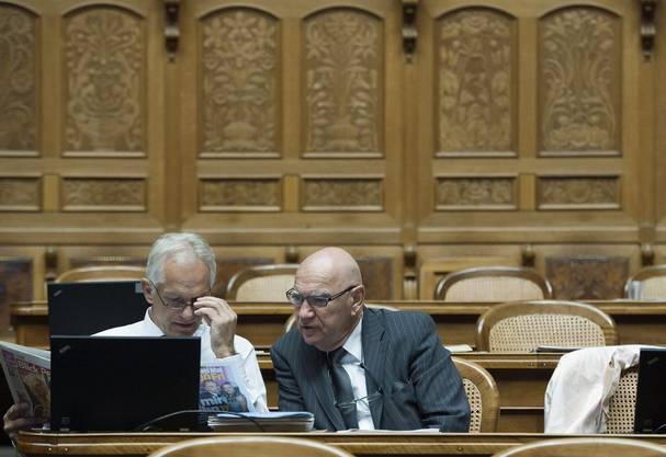 Otto Ineichen im Parlament
