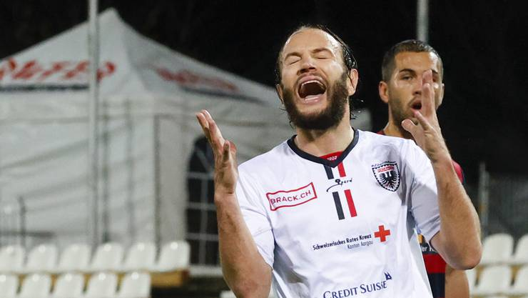 Shkelzen Gashi ist mit seinen sechs Treffern der mit Abstand beste Torschütze des FC Aarau.