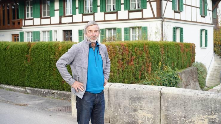 """""""Auf Gemeindeebene spielt die Partei keine Rolle. Wir betreiben Sachpolitik"""", sagt Gemeindepräsident Theodor Bösiger."""