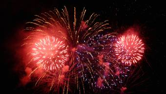 Spektakel: Das Feuerwerk am 31. Juli ist der Höhepunkt des Basler Stadtfestes. (Archivbild: Walter Schwager)