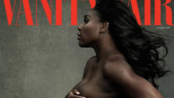 Hüllenlos: Serena Williams auf dem Cover der Vanity Fair