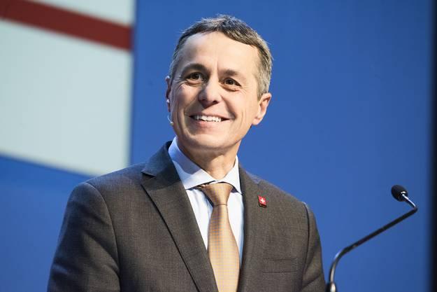 Der Ehrengast: Bundesrat Ignazio Cassis