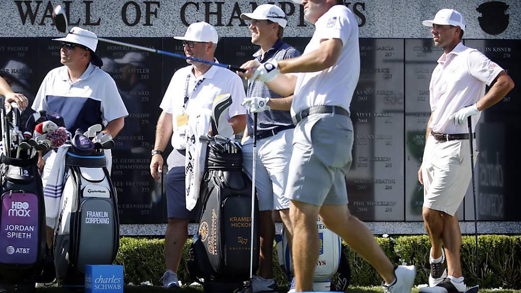 Die US PGA Tour läuft in Fort Worth wieder an