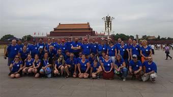 Eindrücke aus einer fremden Welt Wo sie hinkommen, werden die Schlossgeischter in China gefeiert.