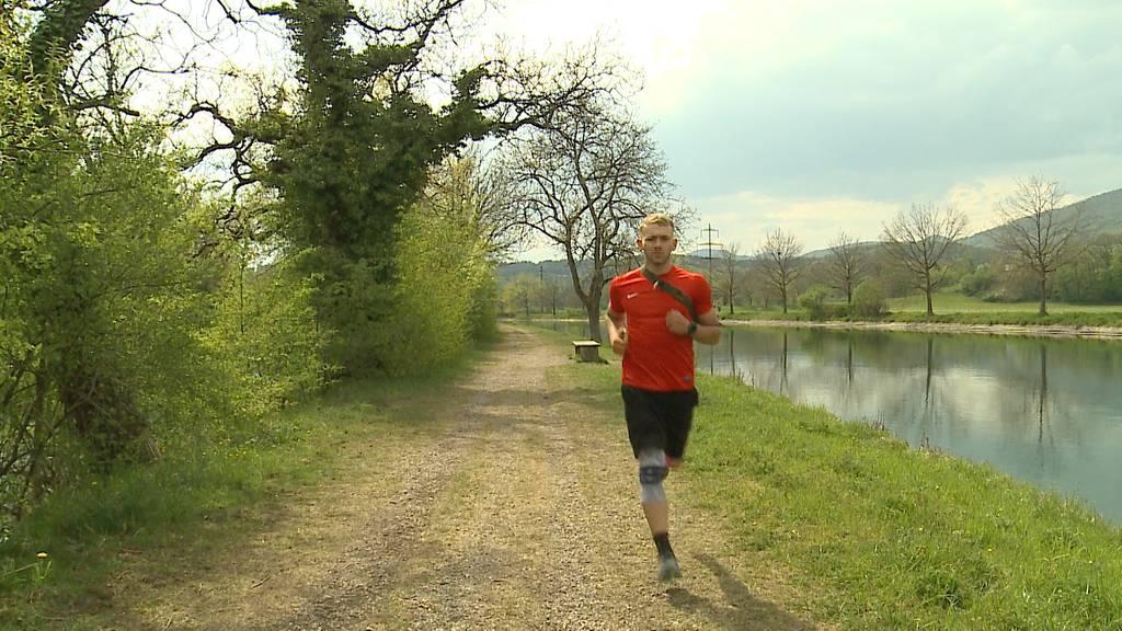 1000 Kilometer laufen im April