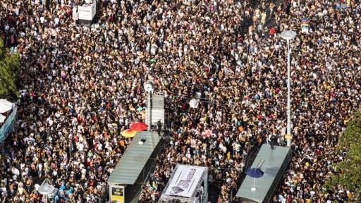 78 Festnahmen an Zürcher Street Parade