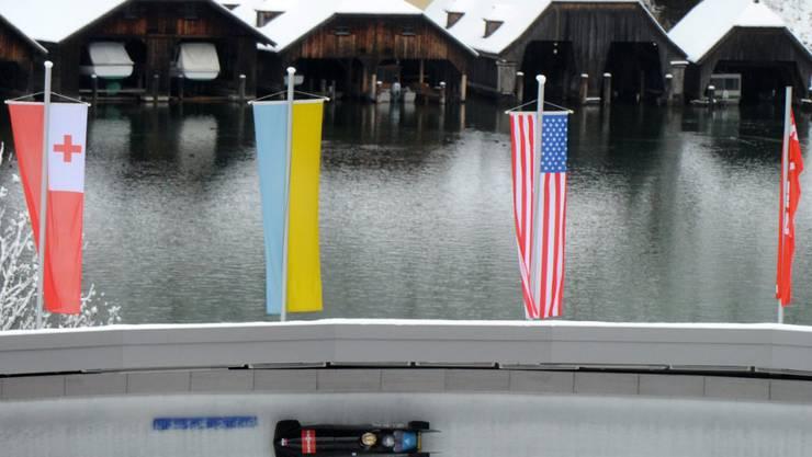 Königssee ist einmal mehr WM-Austragungsort im Bob und Skeleton