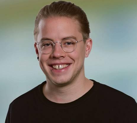 Florian Vock, der neue Gewerkschaftsbund-Präsident im Aargau.