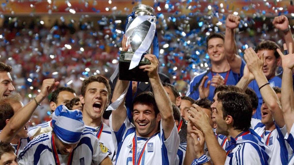 Griechenland sorgte 2004 für eine der grössten Überraschungen der EM-Geschichte.