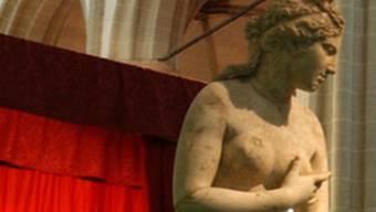 """Die Statue """"Aphrodite-Venus of Gatshina"""", eine römische Kopie des griechischen Originals (Symbolbild)"""