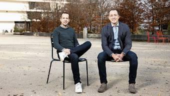 Seit 2015 im Amt und gute Freunde, aber keine politischen Zwillinge: Tobi Auer und Oliver Steger.
