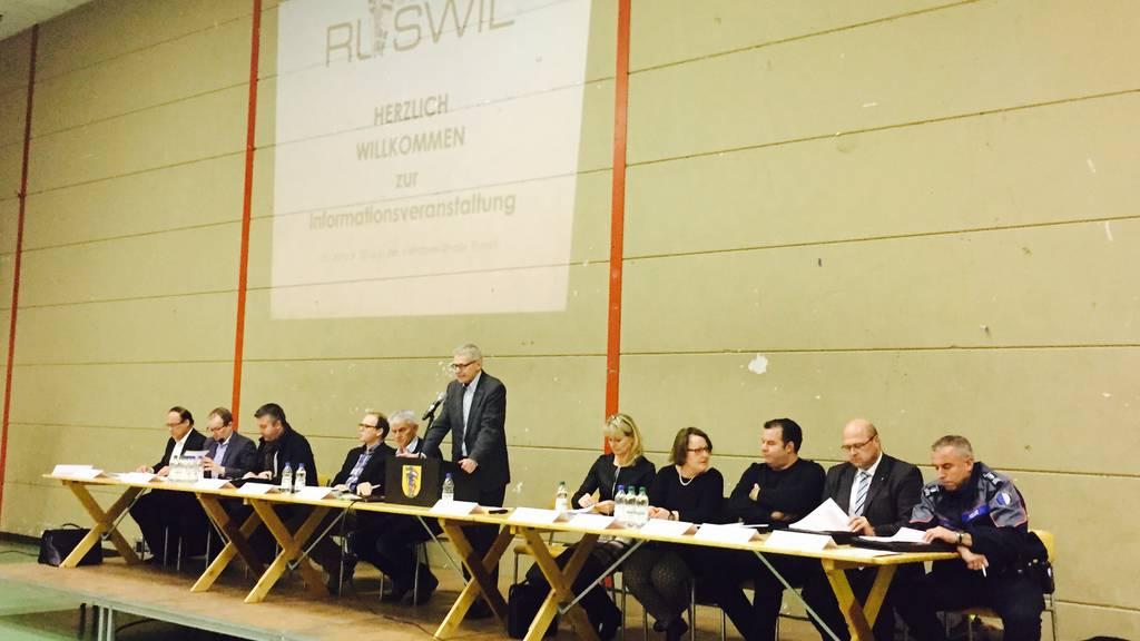 Ruswiler Bevölkerung steht neuer Asylunterkunft kritisch gegenüber