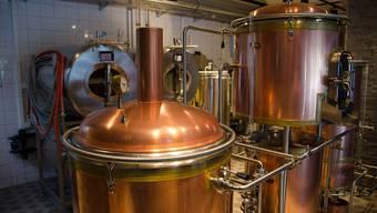 Die Coronakrise trifft auch die Brauereien. Im Bild ist die Brauerei Mettmenstetten im Kanton Zürich zu sehen.