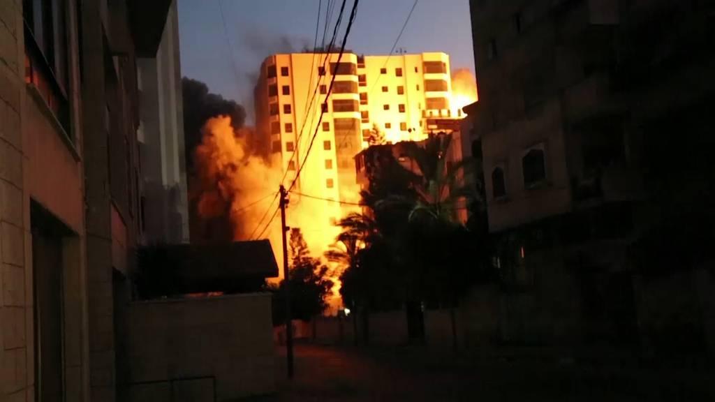 Schwerster Beschuss seit dem Gaza-Krieg - Dutzende Tote