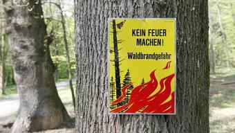 Die Waldbrandgefahr im Kanton Solothurn ist auf gering bis mässig gesunken. (Archiv)