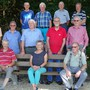 Gruppenbild mit Abstand: Fleissige Chropftuube-Senioren