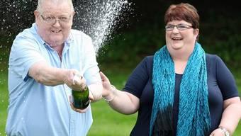 Champagner können sich die Glückspilze aus Schottland nun täglich leisten