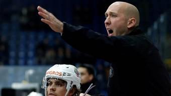 Langnaus Trainer John Fust braucht nun Siege.keystone