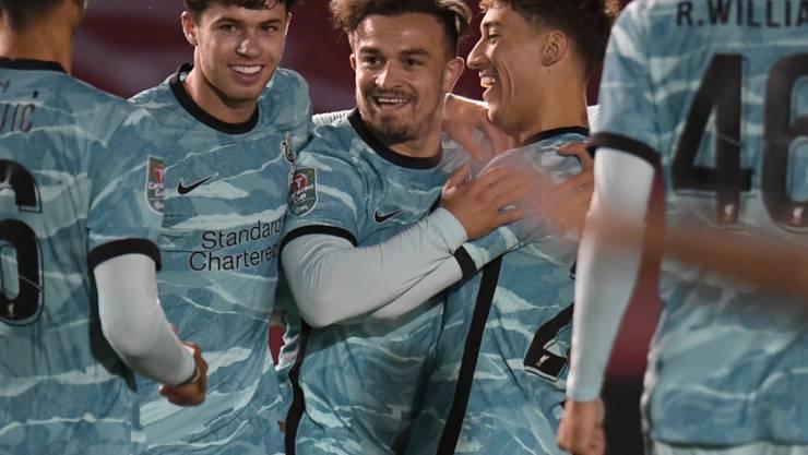 Xherdan Shaqiri schiesst Liverpool in Ligacup auf Kurs