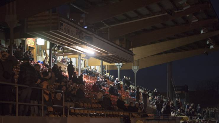 Stromausfall vor dem Spiel FC Aarau - FCZ