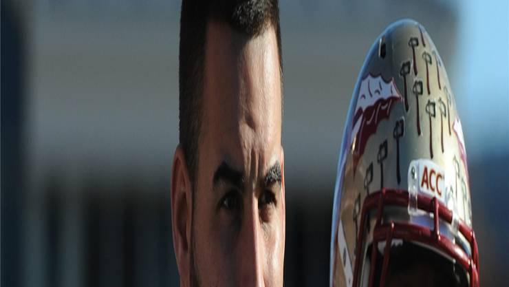 Daniel Glauser hat weiter gute Chancen auf die NFL. Keystone