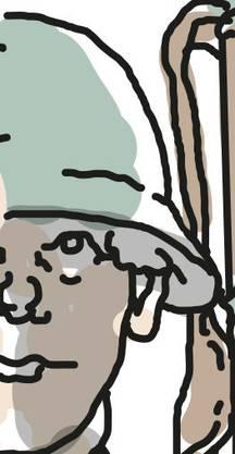 Im Ersten Weltkrieg eingeführt, auch «Kopfwehgamelle »genannt.