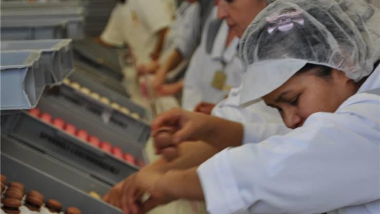 Bei Sprüngli profitiert 2012 das «untere Lonsegment» (Archiv)