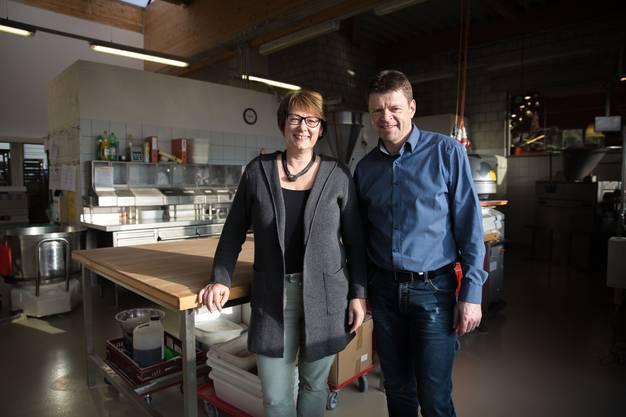Regula und Robert Morgenthaler sind seit 2013 Inhaber der Bäckerei Tea-Room Flury AG und beschäftigen heute 92 Mitarbeitende.